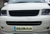 VW T5 Transporter Caravelle VAN Front Bumper spoiler ( ADD-ON)